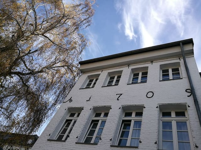 F2 Cozy room in the old town - Duesseldorf - Apartamento