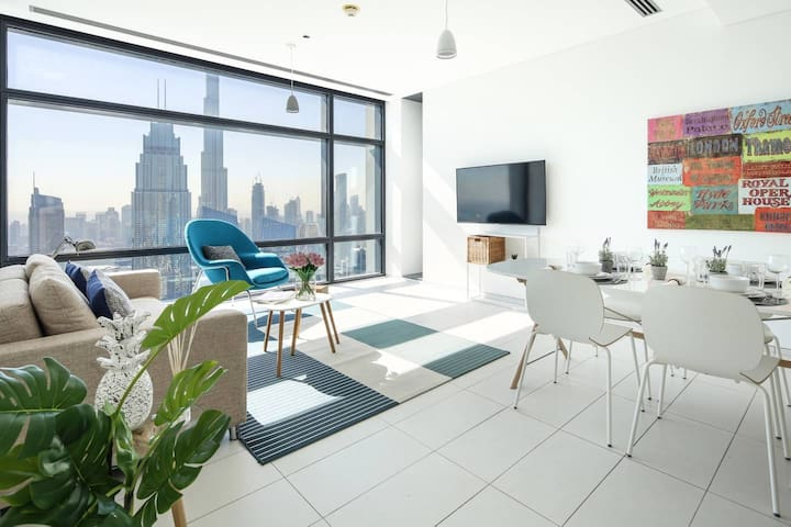 ★Burj Khalifa View! Amazing 1BR in DIFC