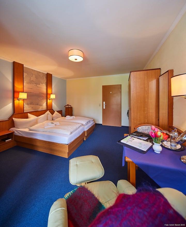 Doppelzimmer im Hotel Seeblick inkl. Frühstück