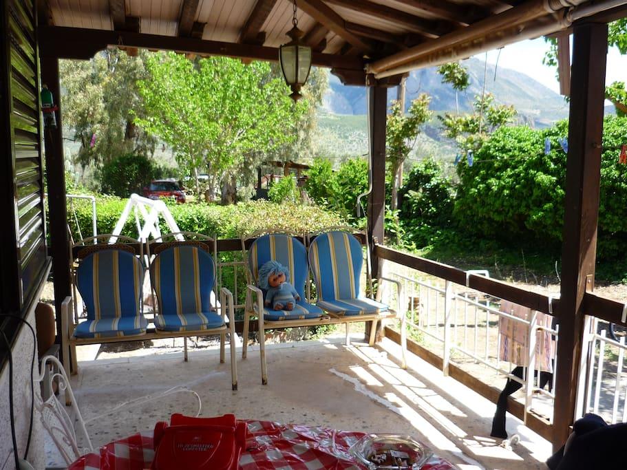 Large verandas