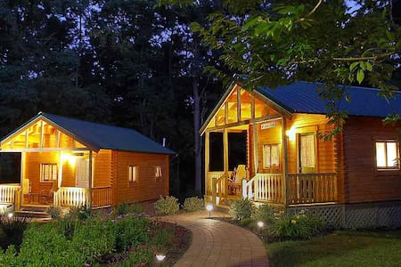 Cabin II (Casa Azul) at Los Gatos B & B - Penn Yan - Bed & Breakfast