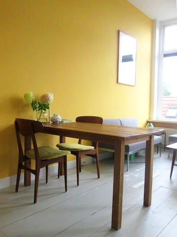 Complete etage 50 m2, privé keuken sanitair