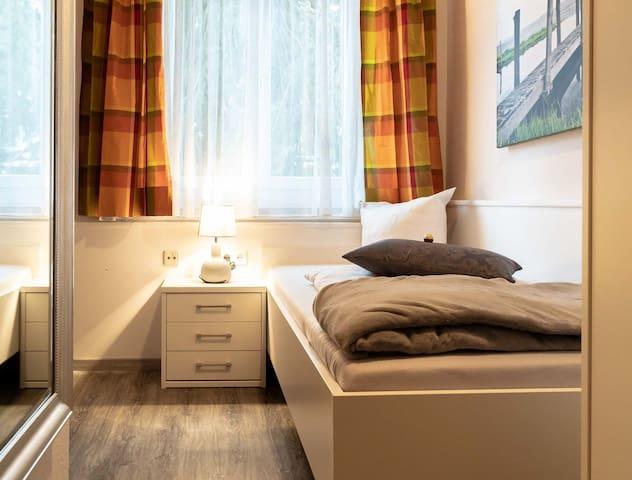 Hotel Seerose Lindau, (Lindau am Bodensee), Einzelzimmer mit WC und Dusche