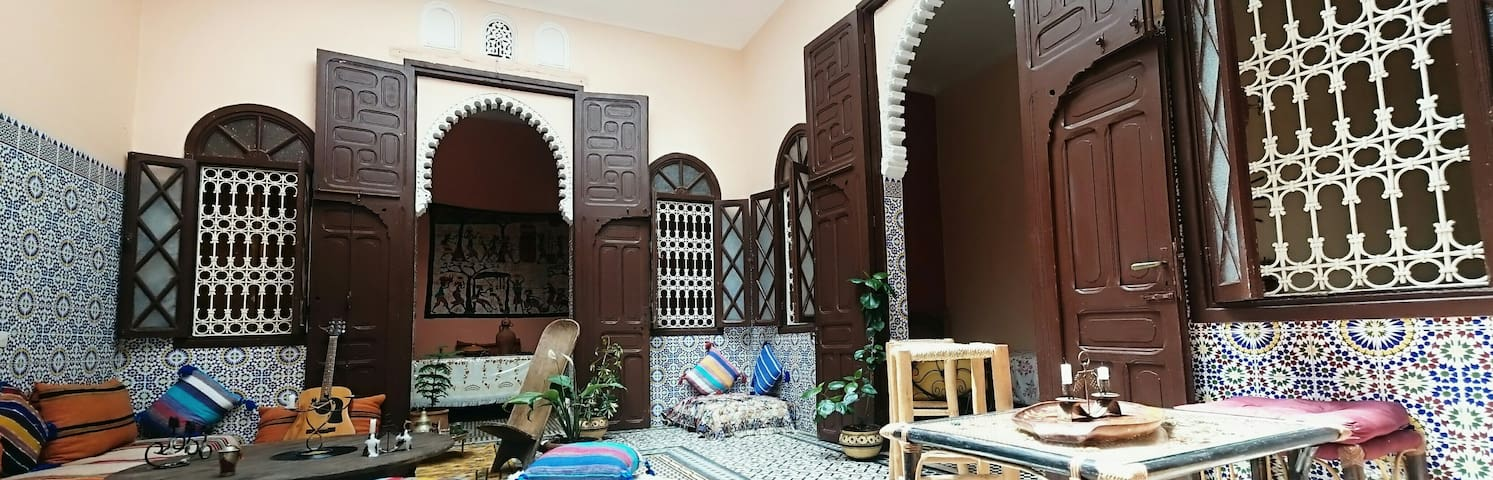 Traditional Riad next the ocean