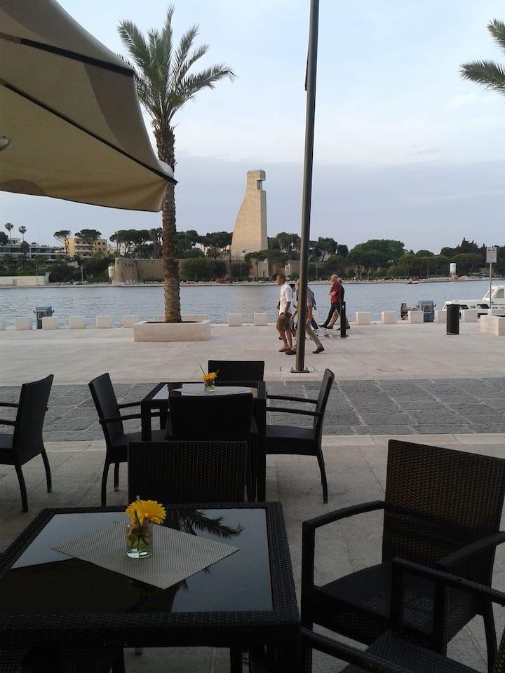 il porto in casa Brindisi vacanze