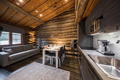 UnelmaPovi - Log Apartment