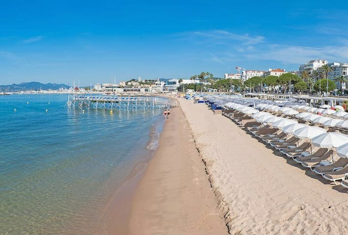 Apartement**** Croisette Cannes + 1 free parking