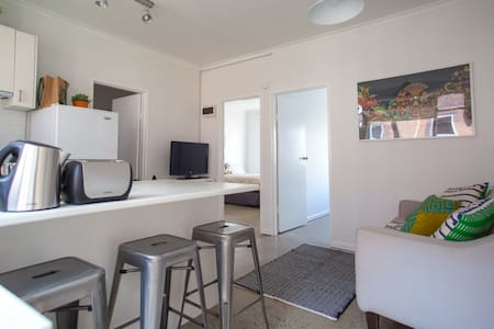 2 bedrooms in the heart of St Kilda