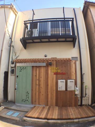 ★Asakusa guest house★ B free P WIFI - 台東区