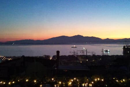 Beautiful City View from the Castle - Thessaloniki, Agios Pavlos - Wohnung