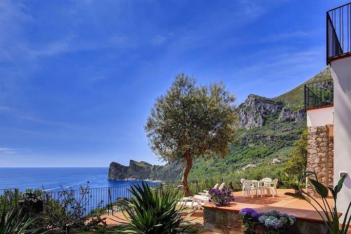 Casa Miomar - Beach, Relax, Comfort - Marina del Cantone - Apartamento