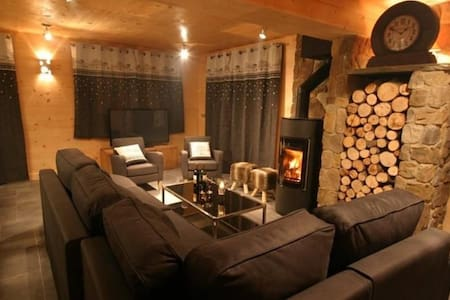 Chalet avec Jacuzzi et sauna - Centre de Méribel