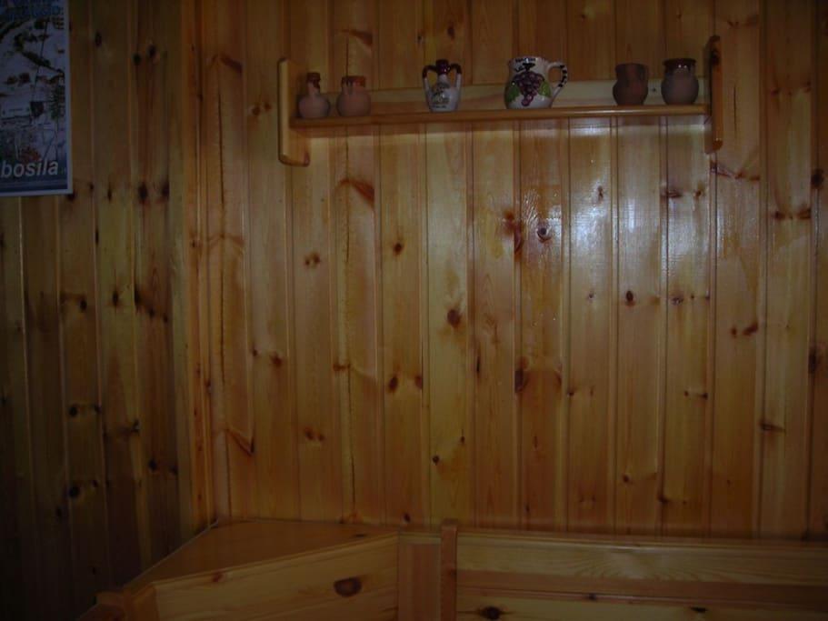 Appartamento tutto rifinito in perline