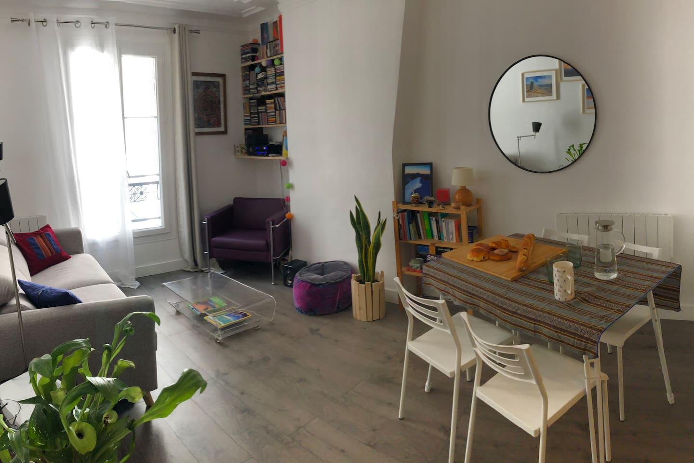 Salon, Salle à manger /  Living Room