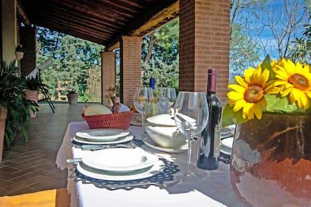 CASALE - Agriturismo Aiola -Toscana - Campagnatico - Haus