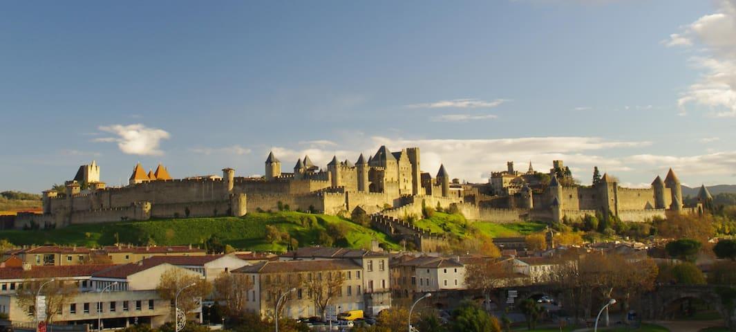 L'Escalette au Sud de Carcassonne - Alet-les-Bains - Apartament