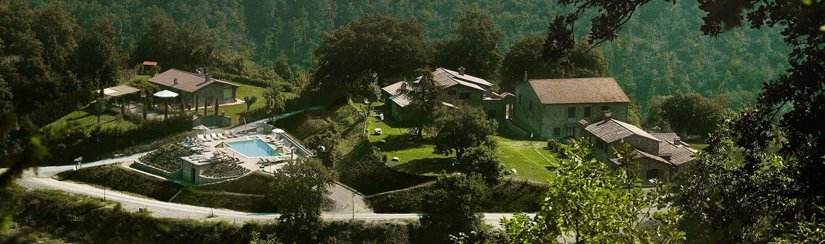 Casale in Antico Feudo di Campagna - Ficulle - Hus