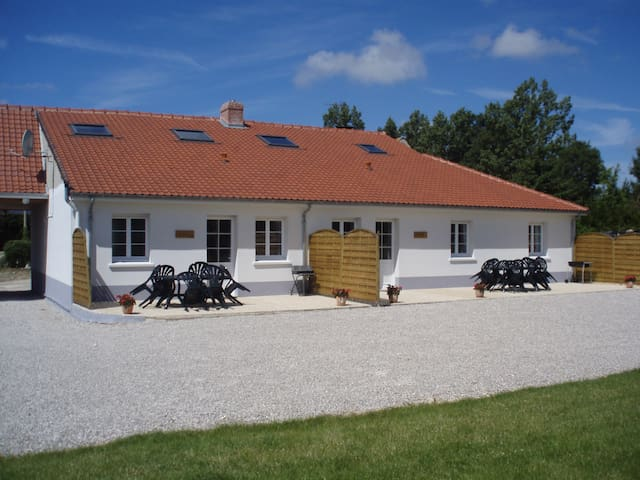 Les Aubépines, gîte à la campagne