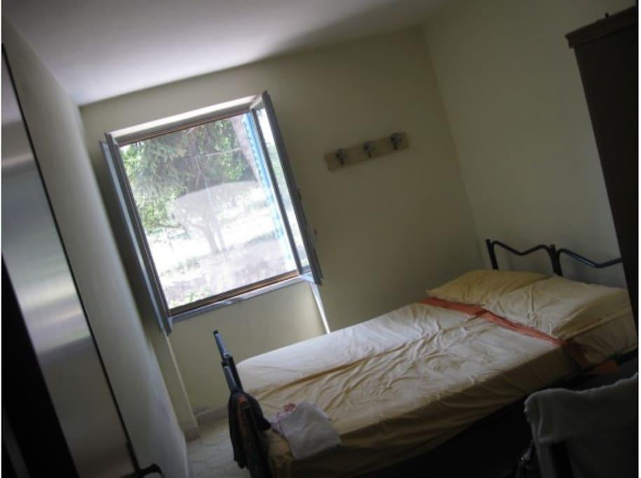 Camera da letto lato ovest