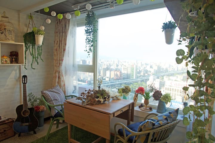 SkyGarden Taipei Station(5sec-MRT) - Zhongzheng District - Apartamento