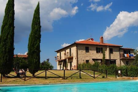 Fattoria Voltrona - ATTIC  Bedroom - San Gimignano, Siena - Bed & Breakfast