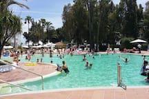 piscina para adultos del complejo