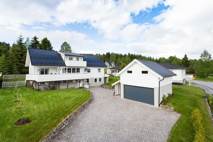 Luksuriøs villa i naturskjønne omgivelser (Hamar)