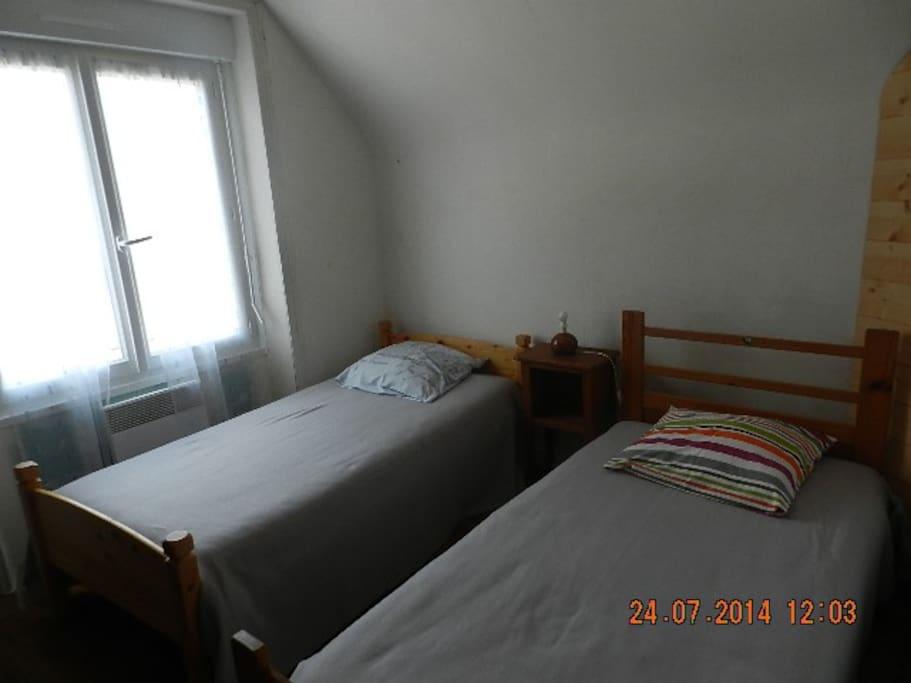 les Brammigs, avec ses 2 lits