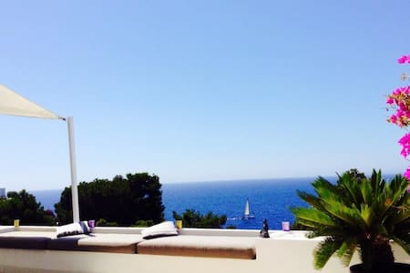 Amazing sea view Ibiza apartment - Roca Llisa - Flat