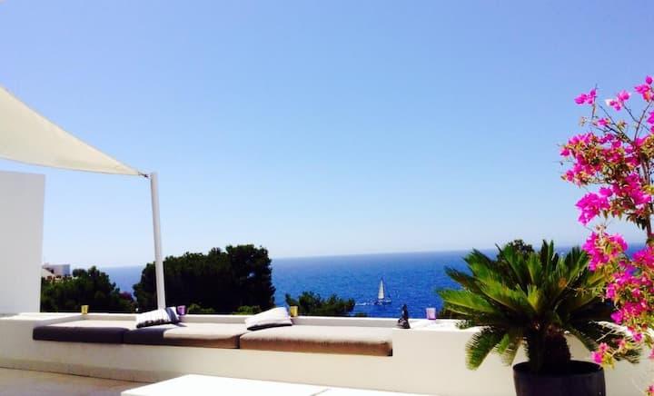 Amazing sea view Ibiza apartment