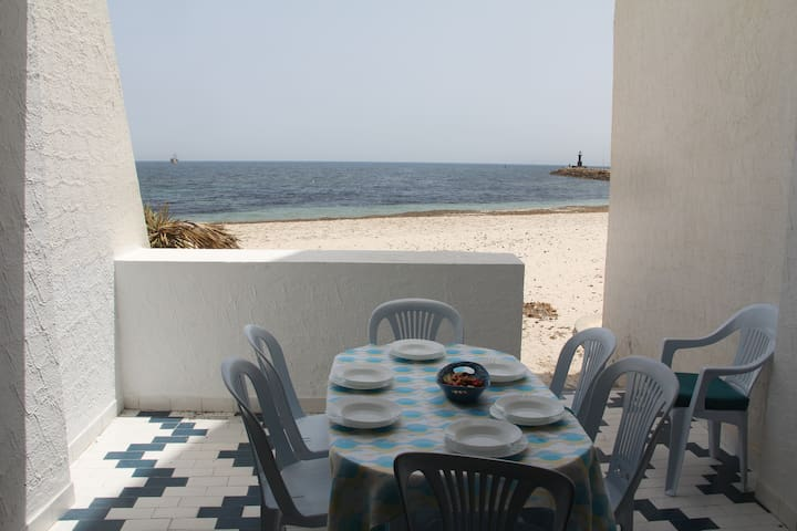 3 Room - BEACH TERRACE APARTMENT - Hammam Sousse - Appartement