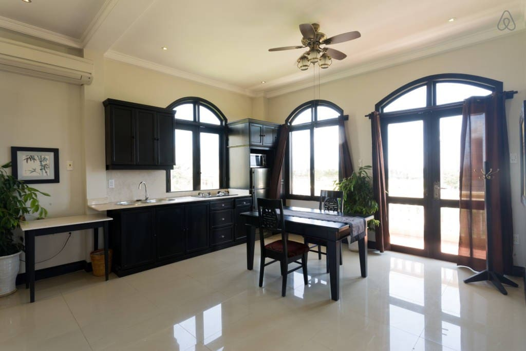 """""""This was a beautiful apartment. I loved the decor, space and size. The location was excellent!"""" - Surabh"""