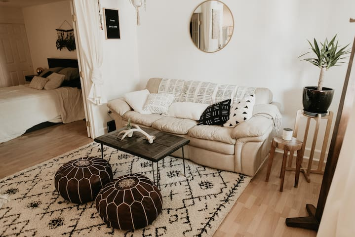Stylish Hygge Condo with Meditation Room