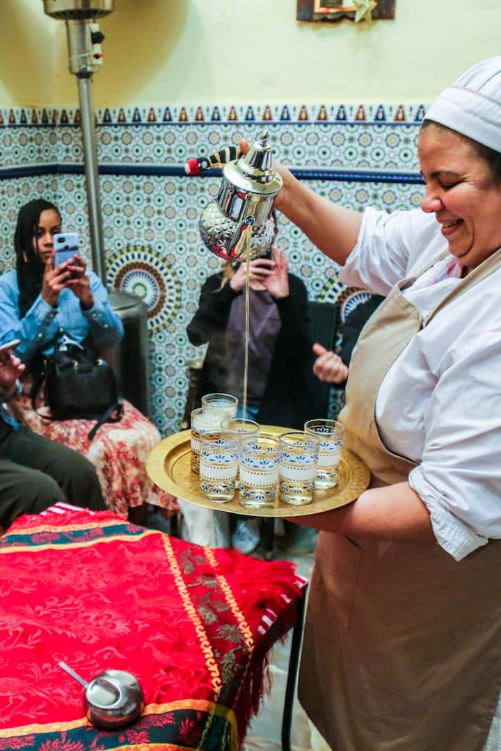 Drink Moroccan tea