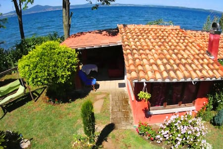 Rome! house at lake private beach!! - Lungolago