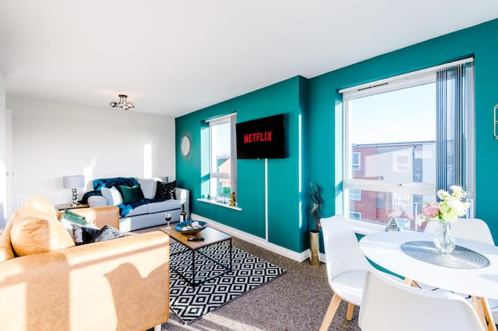 Well appointed and modern Chester apartment