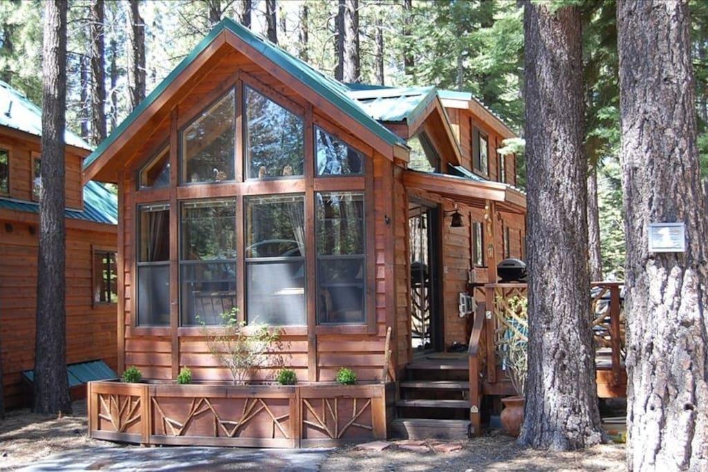 Cozy tahoe cabin getaway cabins for rent in south lake for Rental cabins in south lake tahoe