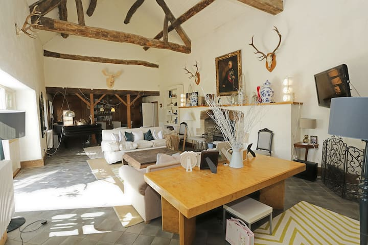 Stunning Cotswold barn conversion - Langford - Casa