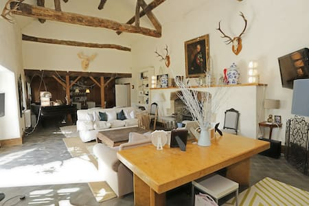 Stunning Cotswold barn conversion - Langford - Haus