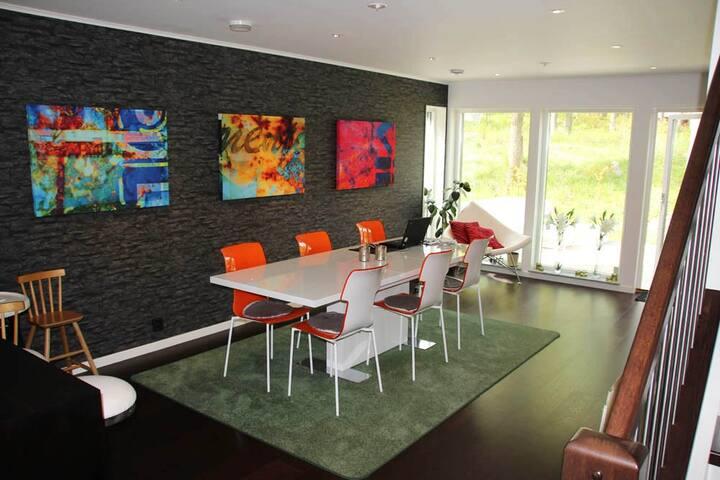 Nybyggd villa mellan hav & storstad - Estocolmo - Villa