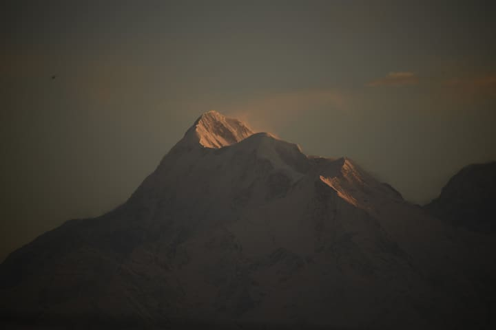 Sunrise over Trishul