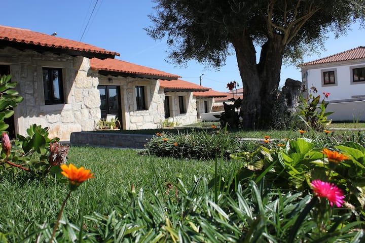 Casas em pedra inseridas em Quinta-> Casa 3-T1