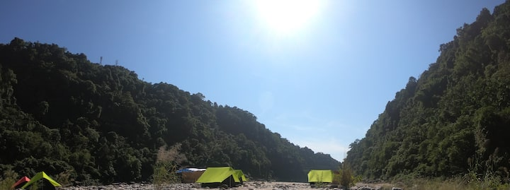 Encamp Adventures - Dawki Alpine Riverside Camps
