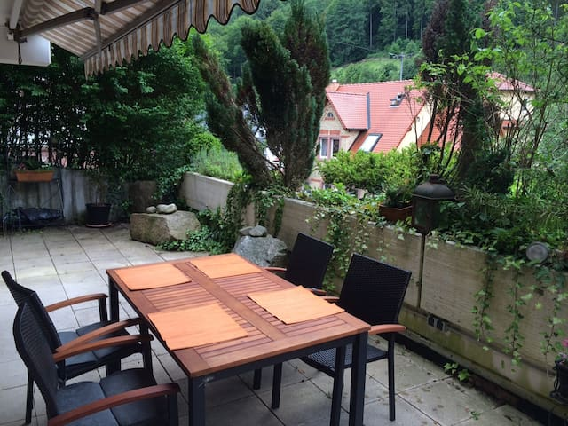 Elegant Apartment with Terrace - Heidelberg - Daire