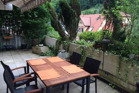 Elegant Apartment with Terrace - Heidelberg