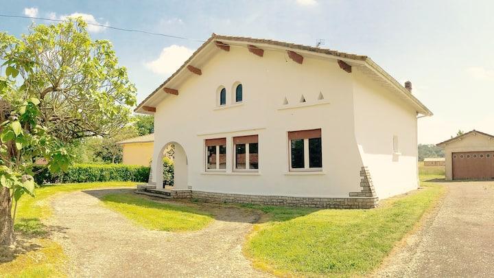 Belle maison dans les Landes