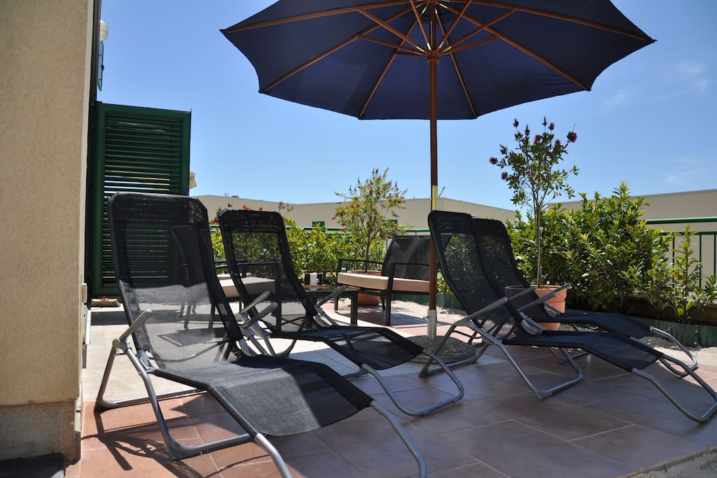 Apartment Barone - terrace, garden