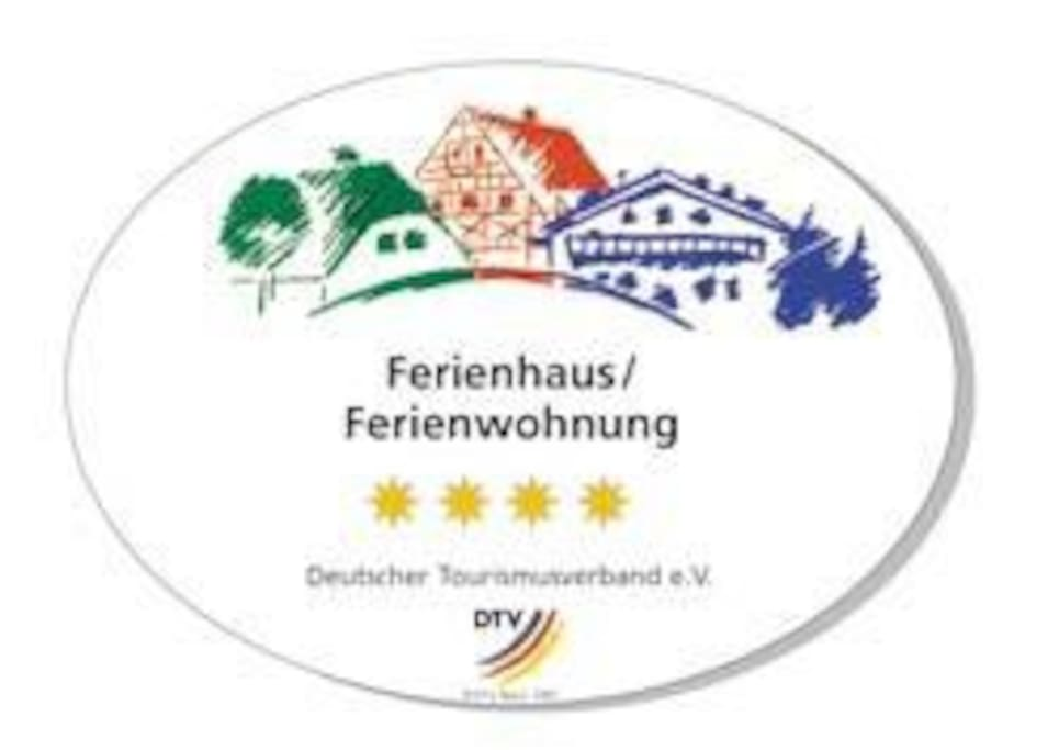 Unsere Häuser sind mit 3 Sternen nach DTV zertifiziert