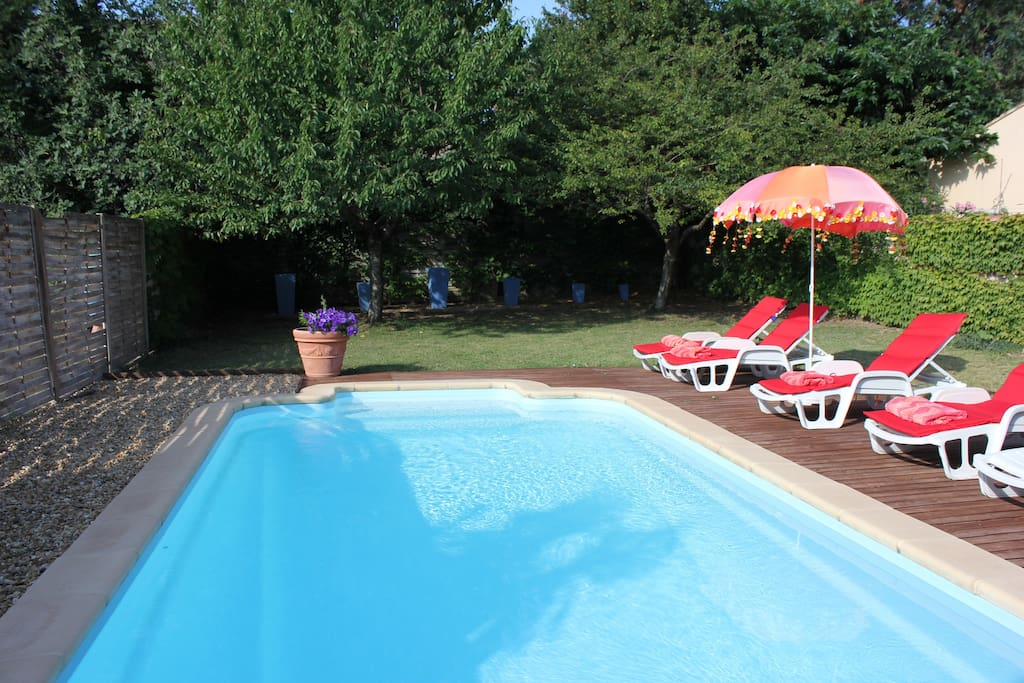Shared Swimming Pool with two other cottages