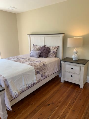 Guest Bedroom in front of house
